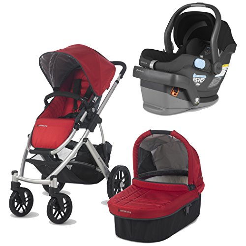 Red And Black Infant Car Seat