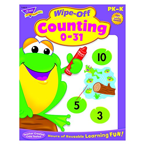 Counting 0-31 Wipe-Off® Book - 1