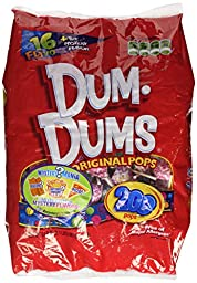 Dum Dum Pops, 200-Count