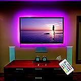 """Stromversorgung über USB LED TV Hintergrundbeleuchtung für 60 """"bis 65"""" TV / Flachbildschirm / Wandhalterung Kino Dekoration LED-Streifen-Beleuchtung"""