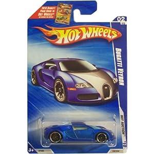 hot wheels 2010 160 blue bugatti veyron hot auction 1 64 scale toys games. Black Bedroom Furniture Sets. Home Design Ideas