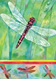 Toland Home Garden Dragonfly 28 x 40-Inch Decorative USA-Produced House Flag