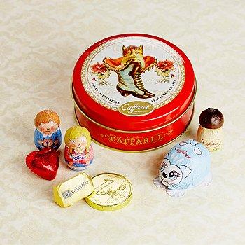 カファレル Caffarel チョコラティーノ缶 ネコ