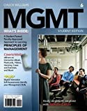 img - for MGMT6 (with Career Transitions Printed Access Card) (Engaging 4ltr Press Titles for Management) by Williams, Chuck Published by Cengage Learning 6th (sixth) edition (2013) Paperback book / textbook / text book