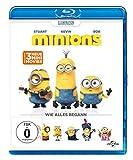 DVD Cover 'Minions [Blu-ray]
