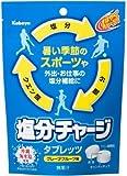 カバヤ 塩分チャージタブレッツ 90g(個装紙込み)×6袋