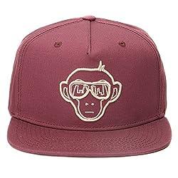 Urban Monkey Premium Purple Adjustable Baseball Snapback Free Size Unisex Hip Hop Cap