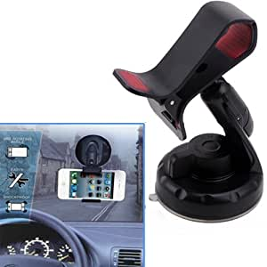 HDE Universal Dashboard Windshield Suction Mount Holder for GPS or Smartphone