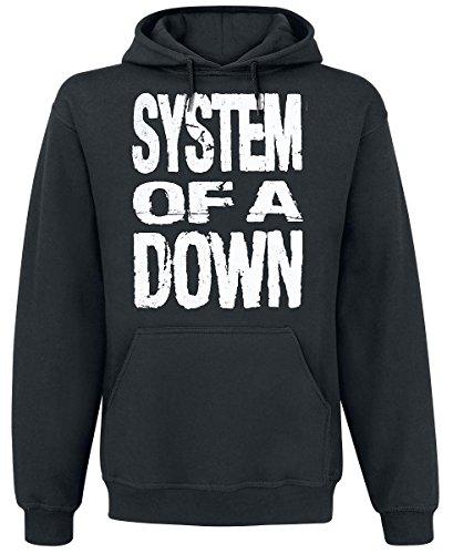 System Of A Down See No Evil Felpa con cappuccio nero L