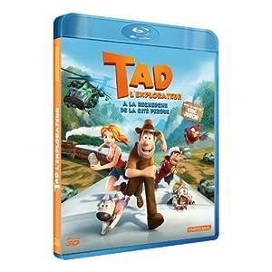 Tad l'explorateur : à la recherche de la cité perdue [Combo Blu-ray 3D + DVD]