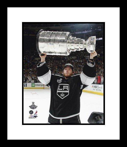 Jonathan Quick Los Angeles Kings NHL Framed 8x10 Photograph Holding Stanley Cup