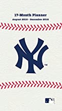 "Turner New York Yankees 17 Month Planner, August 2015 - December 2016, 3.5 x 5"" (8890582)"