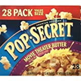 Pop Secret Movie Theater Butter Premium Popcorn 28-3.2oz Bags