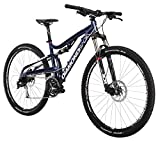 Diamondback Bicycles 2015 Recoil Comp Full Suspension Complete Mountain Bike, 18-Inch/Medium, Blue