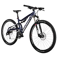 Diamondback Bicycles 2015 Recoil Comp Full Suspension Complete Mountain Bike, 20-Inch/Large, Blue