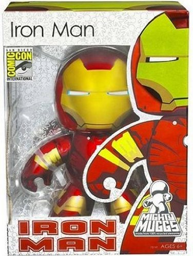 Marvel Mighty Muggs SDCC Exclusive &gt-Iron Man Figure