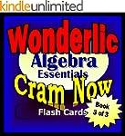 Wonderlic Prep Test ALGEBRA REVIEW Fl...