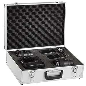Solidguard by Brubaker valise photo en aluminium semi professionnelle couleur argent