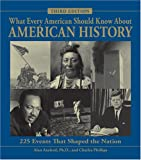 img - for What Every American Should Know About American History: 225 Events that Shaped the Nation book / textbook / text book
