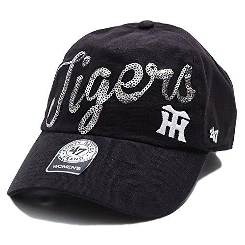 【SPRKS04BCO】フォーティーセブンブランド 47BRAND CAP ベースボール ボールキャップ NPB 日本プロ野球 阪神タイガース コラボ つば カーブ スパンコール 正規品