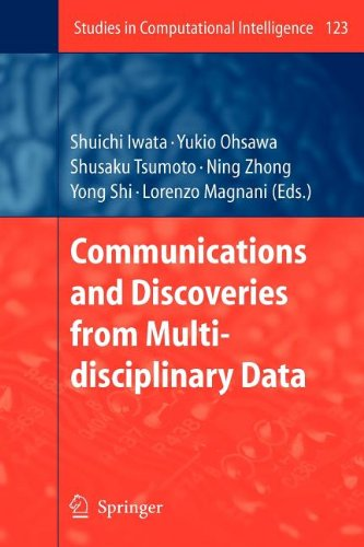 Communications And Discoveries From Multidisciplinary Data (Studies In Computational Intelligence)