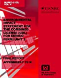 Environmental Impact Statement for the Combined License (COL) for Enrico Fermi Unit 3: Final Report