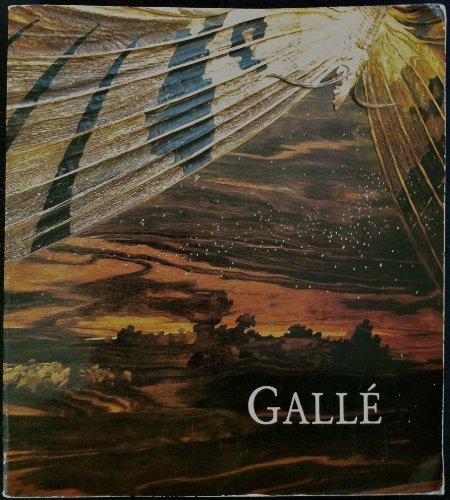 Gallé - Catalogue Exposition - Paris, Musée du Luxembourg - 29 novembre - 2 février 1986