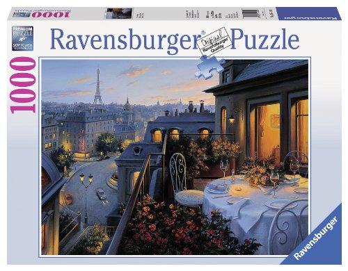 Ravensburger Paris Balcony Jigsaw Puzzle (1000-Piece) (Best Puzzles 1000 Piece compare prices)