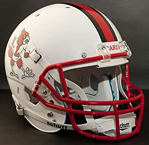 LOUISVILLE CARDINALS 1981-1982 Schutt AiR XP Authentic GAMEDAY Football Helmet by ON-FIELD