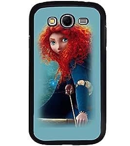Printvisa Witchish Girl Pick Back Case Cover for Samsung Galaxy Grand i9080:::Samsung Galaxy Grand i9082