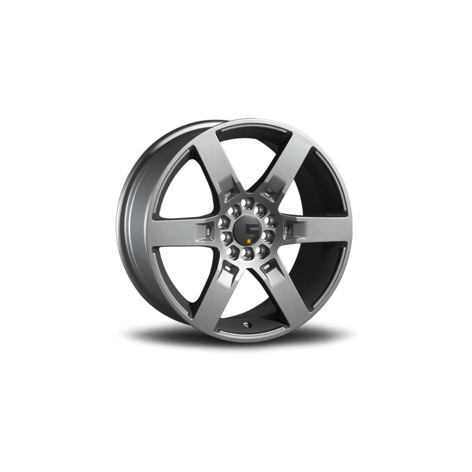 Five Axis R6F 19 Silver Wheel / Rim 5x112 & 5x120 with a 40mm Offset and a 73.10 Hub Bore. Partnumber 5039 9818 40