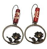 Fever 21 Red Contemporary Fall Earrings for Women -( 29036 )