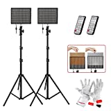 Aputure Amaran HR672S HR672W CRI 95+ LED Video Studio Lighting Kit with 2.4G FSK Wireless Control 6600mAh Batteries and 6.5ft Light Stand