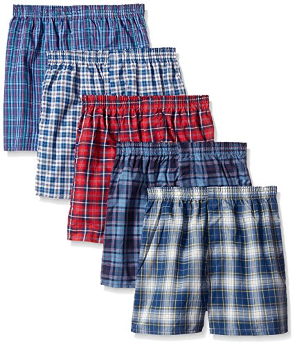 fruit-of-the-loom-big-boys-tartan-boxer-assorted-large-pack-of-5