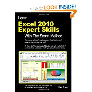 Download book Learn Excel 2010 Expert Skills with The Smart Method: Courseware Tutorial teaching Advanced Techniques