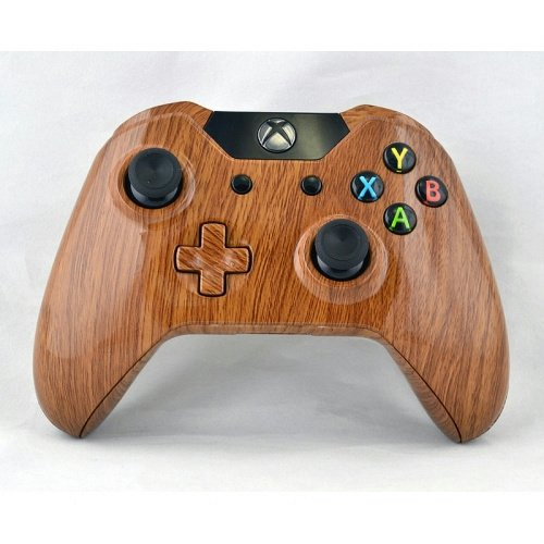 XBOX One Custom Hydro Dipped Wood Grain Replacement Housing Shell Kits    Xbox One Controller Custom