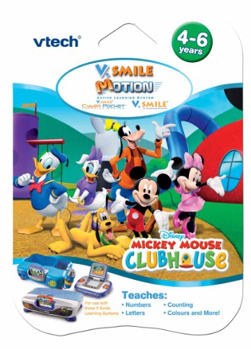 V.Smile Motion Game Mickey Mouse Club House
