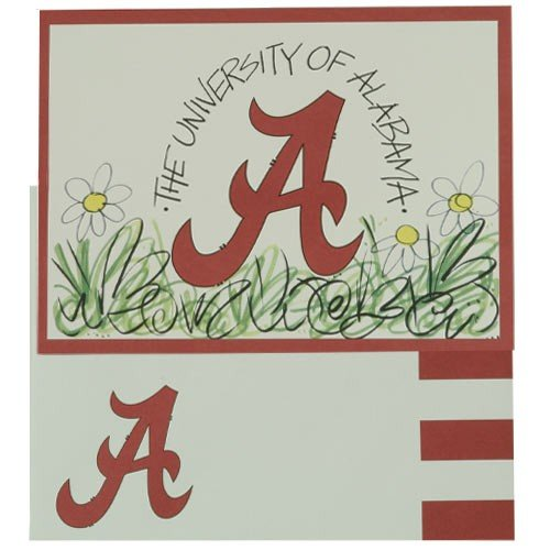 Set of University of Alabama Crimson Tide Note Cards - NCAA Team Merchandise at Amazon.com