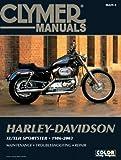 Harley Davidson XL XLH Sportster 1986 2003  Clymer Motorcycle Repair
