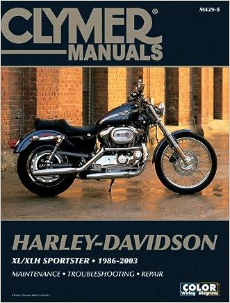 Harley-Davidson XL/XLH Sportster 1986-2003 (Clymer Motorcycle Repair)