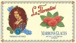 La Florentine Marrons Glace, 7.1-Ounce Boxes (Pack of 2)