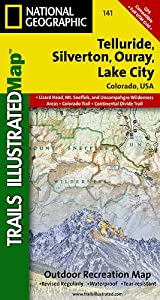 TI Map #141- Telluride/Silverton/Ouray/Lake City