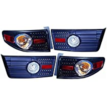 Honda Accord Sedan Replacement Tail Light Assembly - 1-Pair