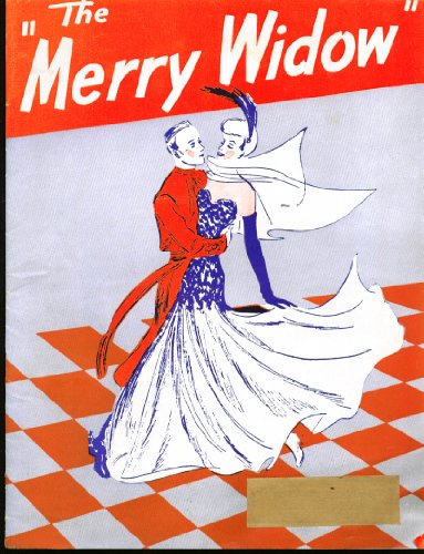 Franz Lehar Merry Widow Program & Bushnell Playbill 1945