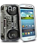 Accessory Master Housse rigide pour Samsung Galaxy S3 I9300 Noir Stéréo conception