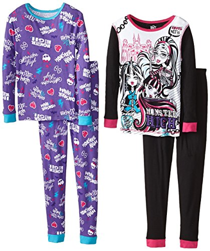 Monster High Big Girls' Character 4-Piece Sleep Set