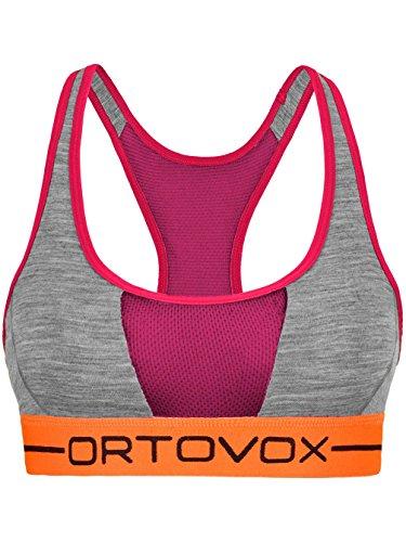 Ortovox-Reggiseno sportivo da donna Rock 'n 'wool grey blend L
