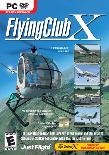 FlyingClub X Expansion for MS Flight Simulator X/2004 DVD – PC