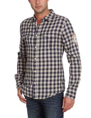 Ltb Jeans Men's 4960 / Alder Casual Shirt Multicoloured (Alder Check 8756) 56