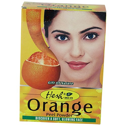 Hesh Orange Arancia Maschera Viso Purificante Balsamo Capelli Astringente
